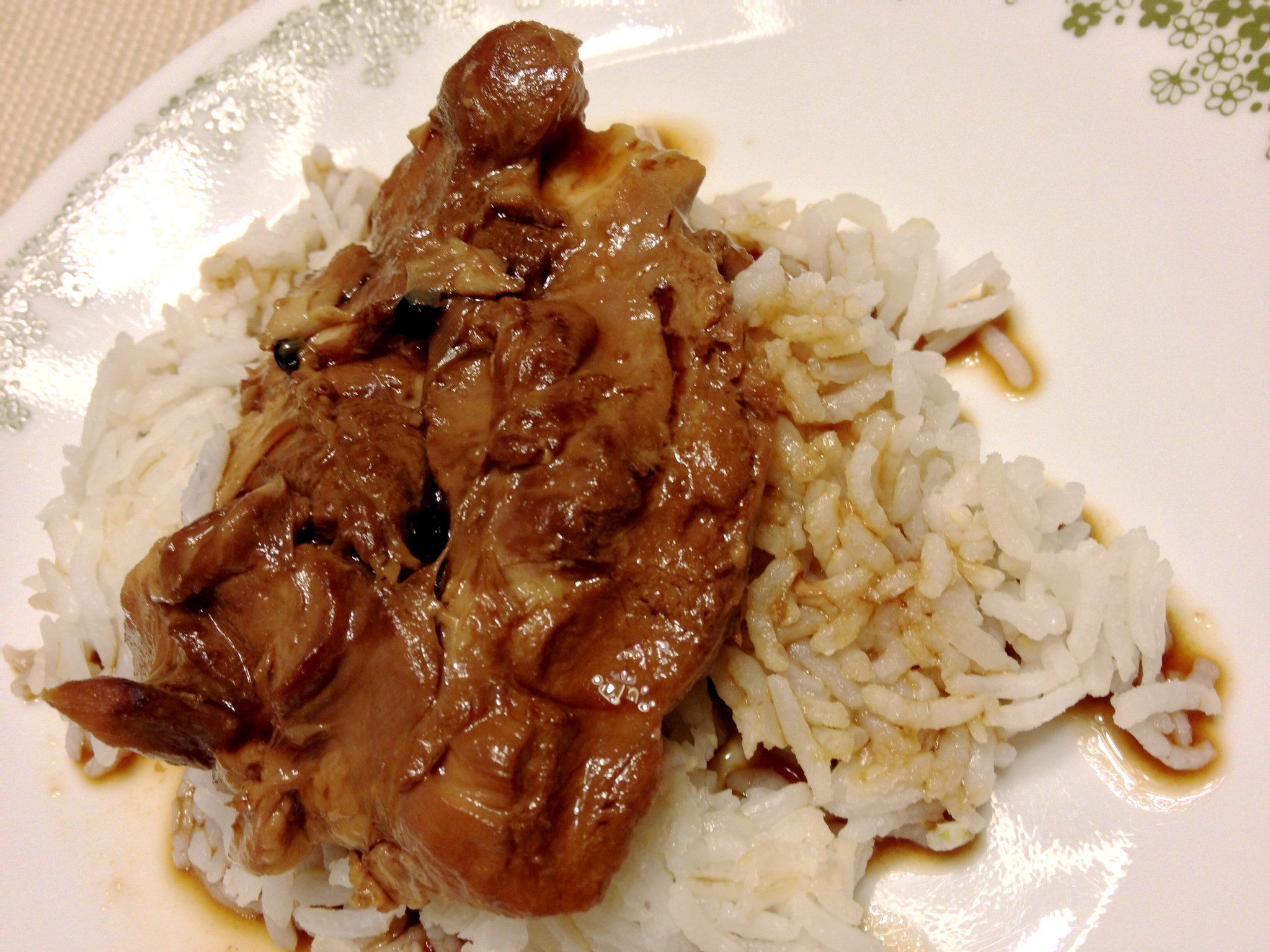 Semi-homemade, slow cooked Chicken Adobo | My Delights
